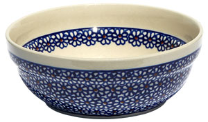 Polish Pottery Cereal / Salad Bowl, Classic Design 120