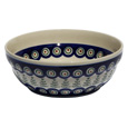 Polish Pottery Cereal / Salad Bowl, Classic Design 312