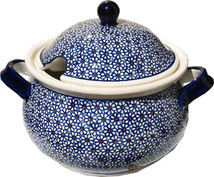 Polish Pottery Soup Tureen, Classic Design 120