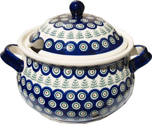 Polish Pottery Soup Tureen, Classic Design 312