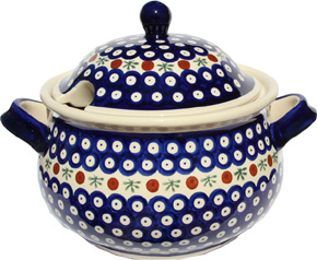 Polish Pottery Soup Tureen, Classic Design 41