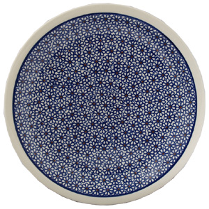 Polish Pottery Dinner Plate, Classic Design 120