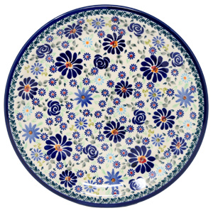 Plate 10.75 Inch Diameter in DU126 Pattern from Zaklady