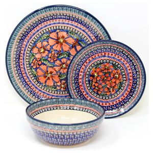 3 Piece Place Setting, Unikat Signature 150 Art