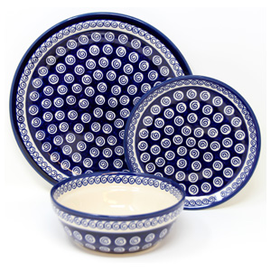 3 Piece Place Setting, Classic Design 174a