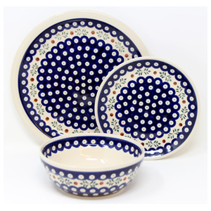 3 Piece Place Setting, Classic Design 242