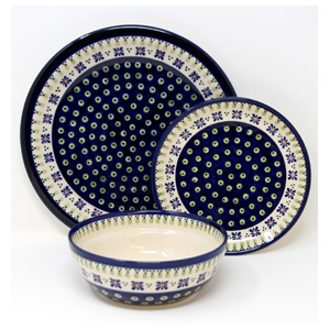 3 Piece Place Setting, Classic Design 296a