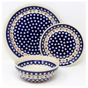 3 Piece Place Setting, Classic Design 41
