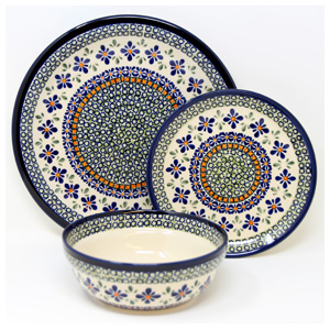3 Piece Place Setting, Pattern DU60