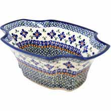 Polish Pottery Fruit Bowl