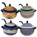 Soup Tureens with Ladle