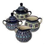 Sugar Bowls and Creamers, B