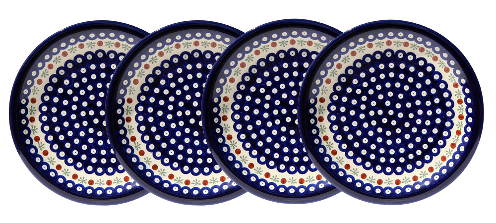 Polish Pottery Set of 4 Dinner Plates  sc 1 st  Polish Pottery Market & Polish Pottery Dinner Plate