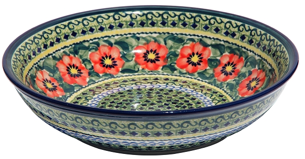 Polish Pottery Bowl 10 Inch 7 Quot To 10 Quot Diameter Bowls