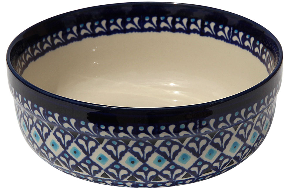 Polish Pottery Bowl 7 Inch