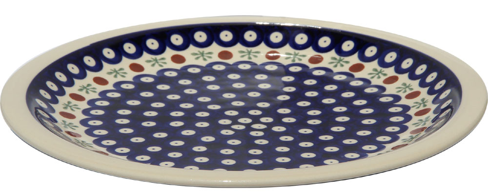 Polish Pottery Dinner Plate, Classic Design 41
