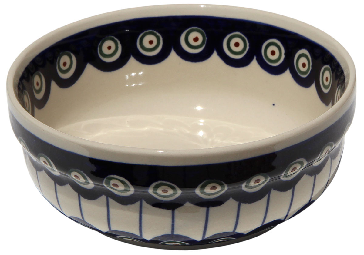 Polish Pottery Bowl 6 Inch