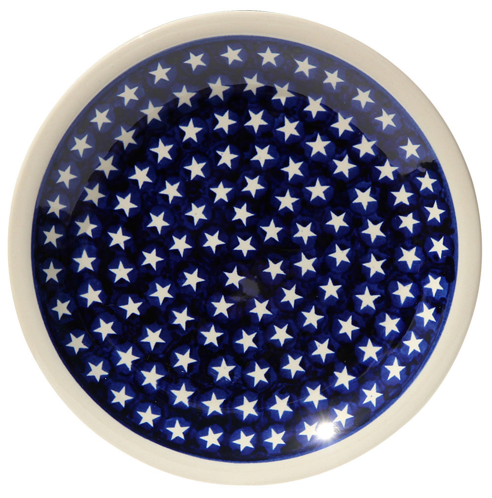 Polish Pottery Dinner Plate, Classic Design 82