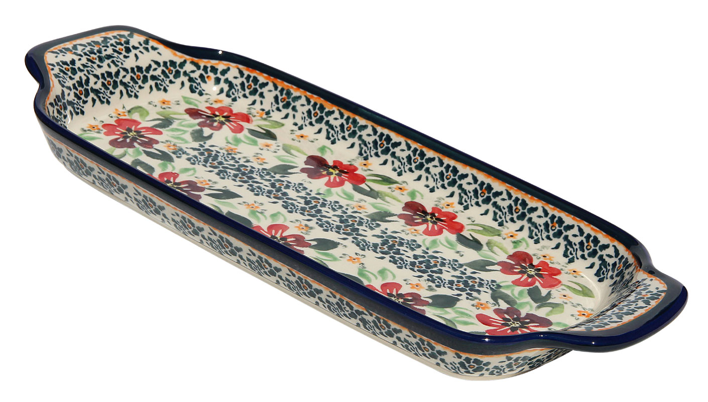 Polish Pottery Bread Tray