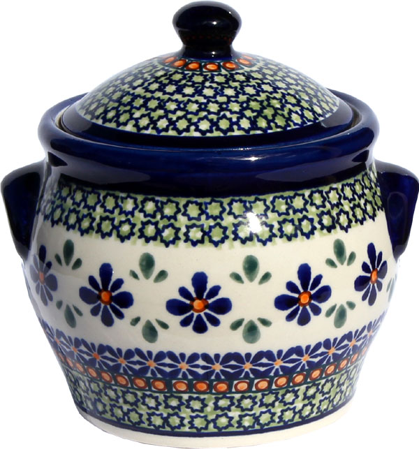 Polish Pottery Small Canister 3.17 cup