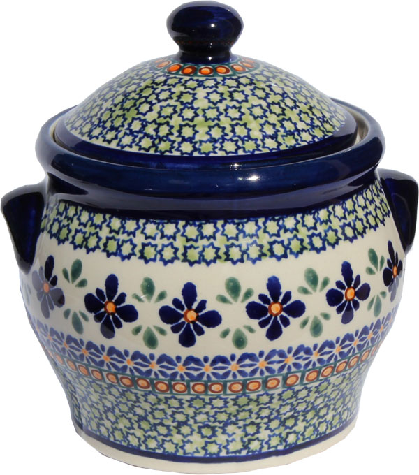 Polish Pottery Medium Canister 4.2 cup