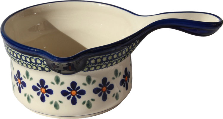 Polish Pottery Saucepan