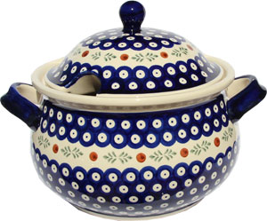 Polish Pottery Soup Tureen, Classic Design 242