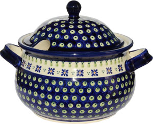 Polish Pottery Soup Tureen, Classic Design 296a