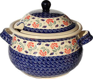 Polish Pottery Soup Tureen, Classic Design 963