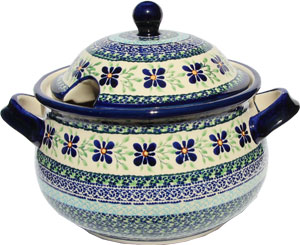 Polish Pottery Soup Tureen, Unikat Design DU121