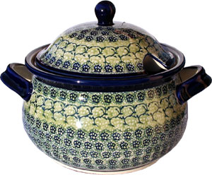 Polish Pottery Soup Tureen, Unikat Design DU41