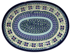 Polish Pottery Medium Serving Platter