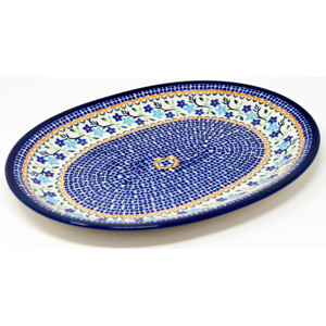 Large Serving Platter from Zaklady Boleslawiec