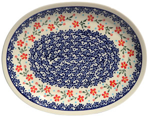 Polish Pottery Large Serving Platter