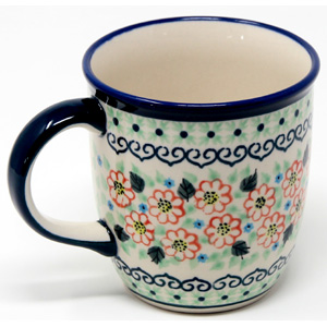 Mug 12 Oz. Polish Pottery in 227Art a Unikat Signature Pattern