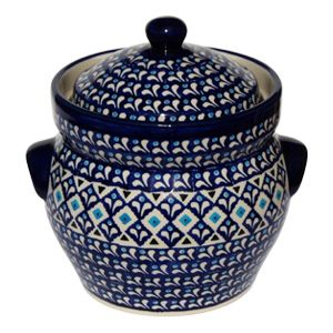 Polish Pottery Fermenting Crock Pot 7 Cups