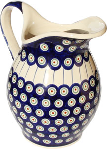Polish Pottery Pitcher
