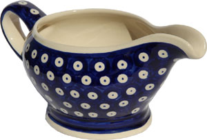 Polish Pottery Gravy Boat 16 Oz., Classic Design 42