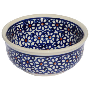 Polish Pottery Bowl 3.75