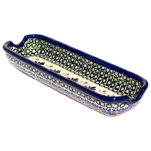 Polish Pottery Corn-on-the-Cob Dish
