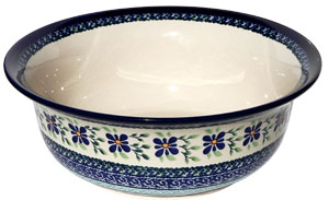 Polish Pottery Serving Bowl