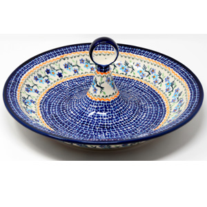 Fruit Bowl from Zaklady Boleslawiec Polish Pottery in 1154a pattern