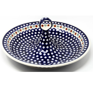 Fruit Bowl in Nature Polish Pottery Pattern from Zaklady