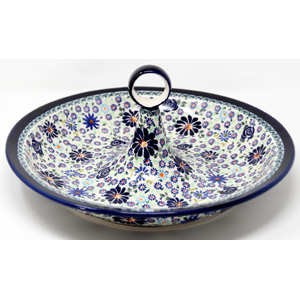 Fruit Bowl  in DU126 Pattern Polish Pottery