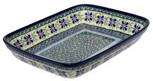 Polish Pottery Baking Dish 8