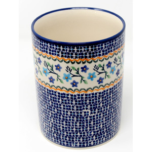Kitchen Utensil Holder Polish Pottery in 1154a Pattern