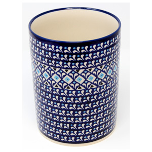 Polish Pottery Utensil Holder