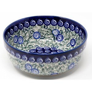 Bowl 6 Inch Diameter Polish Pottery from Zaklady