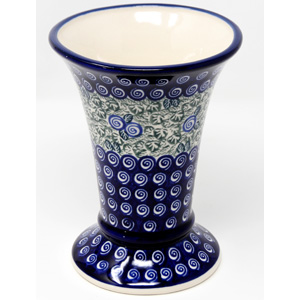 Vase 7.5 Inch High from Zaklady Polish Pottery in 1073a Design