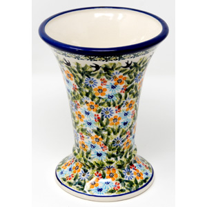 Vase 7.5 Inch High from Zaklady Polish Pottery
